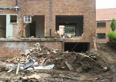 Afbreken woningen Roeselare - West-Vlaanderen