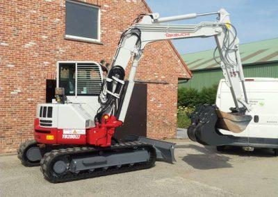 Graafmachine 8 ton