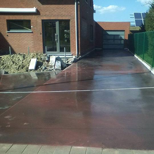 Depuydt Dieter Staden - gieten en polieren beton